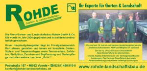 Rohde Landschaftsbau Ausbildung